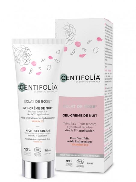 Gel Crème de Nuit Eclat de Rose Centifolia 70 ml