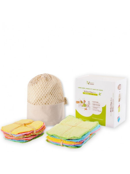 Kit Eco Chou bambou multicolore