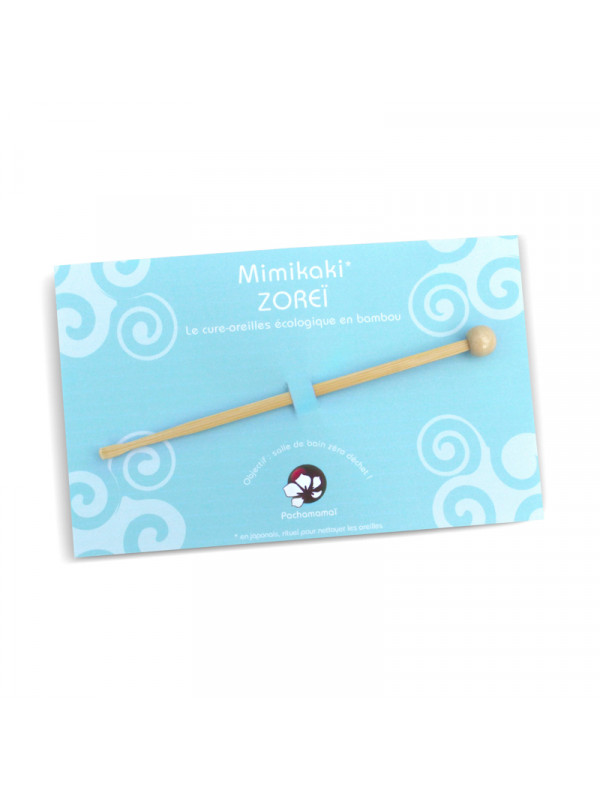 Zoreï cure oreille en bambou pachamamai