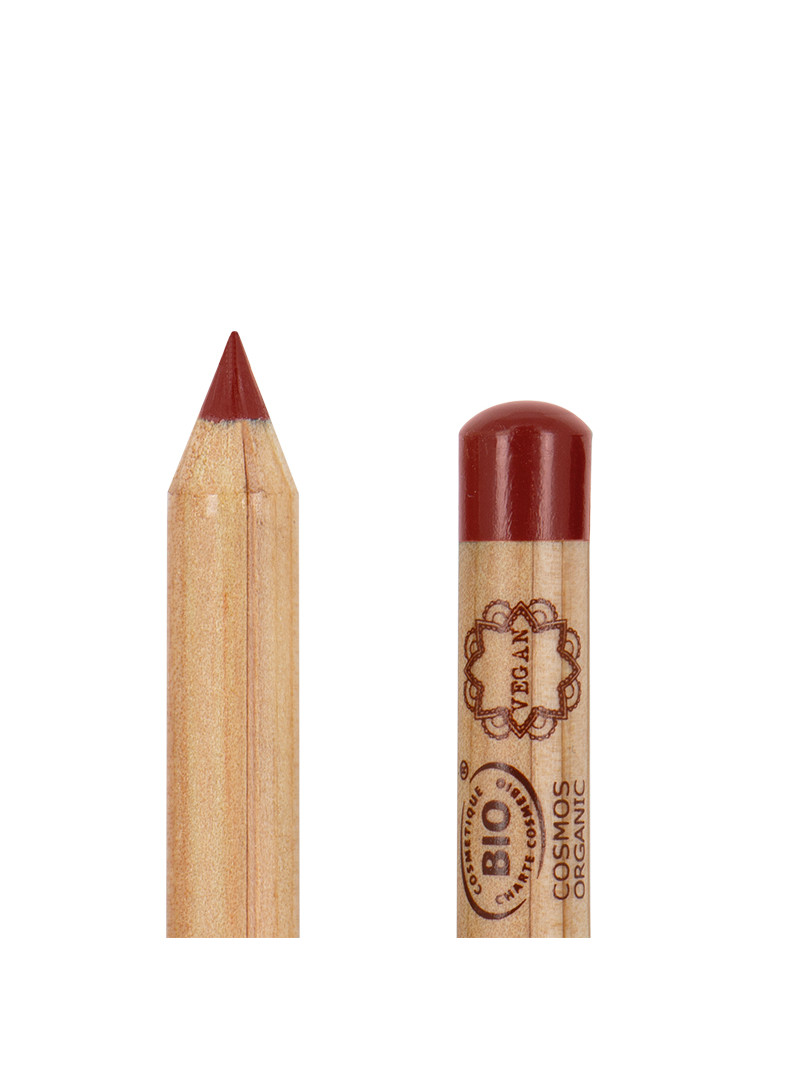 Crayon à lèvres Brick Red, collection Valley of Fire, Boho green makeup