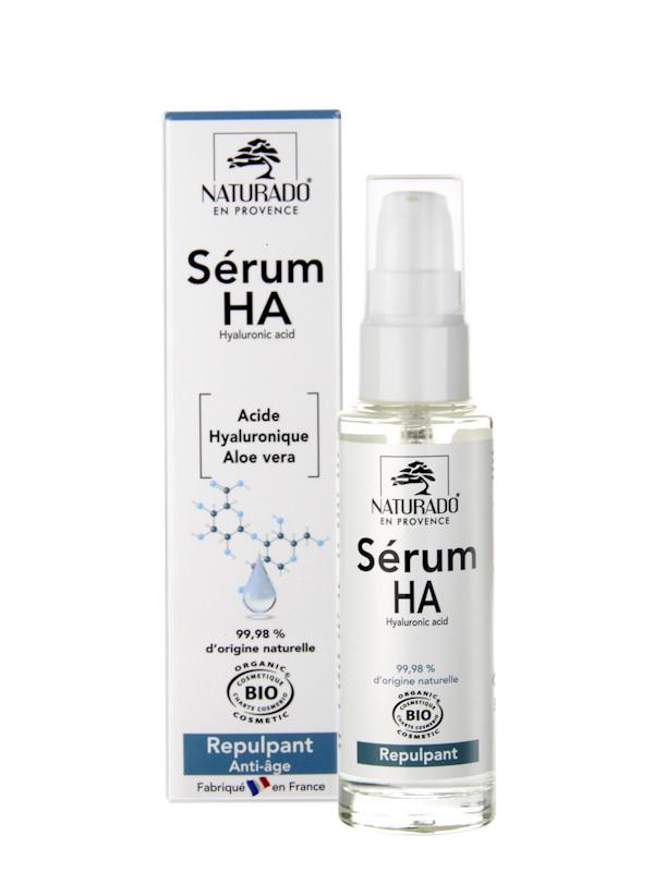 Serum HA à l'acide hyaluronique  Naturado en Provence 40 ml
