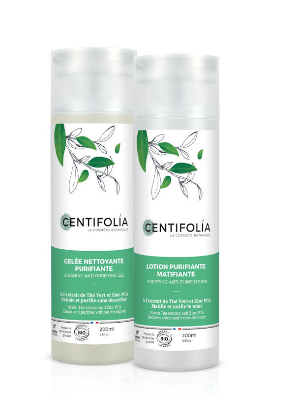 Duo nettoyant Thé vert Centifolia