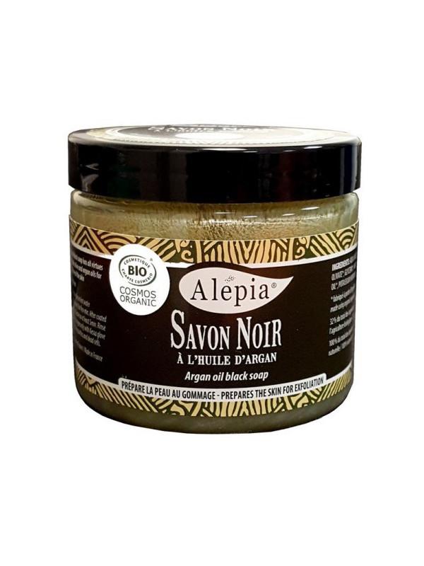 Savon Noir à l'huile d'argan bio ALEPIA