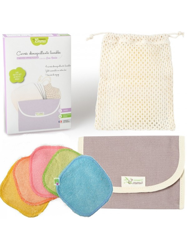 Kit Eco Belle Nomade bambou couleur