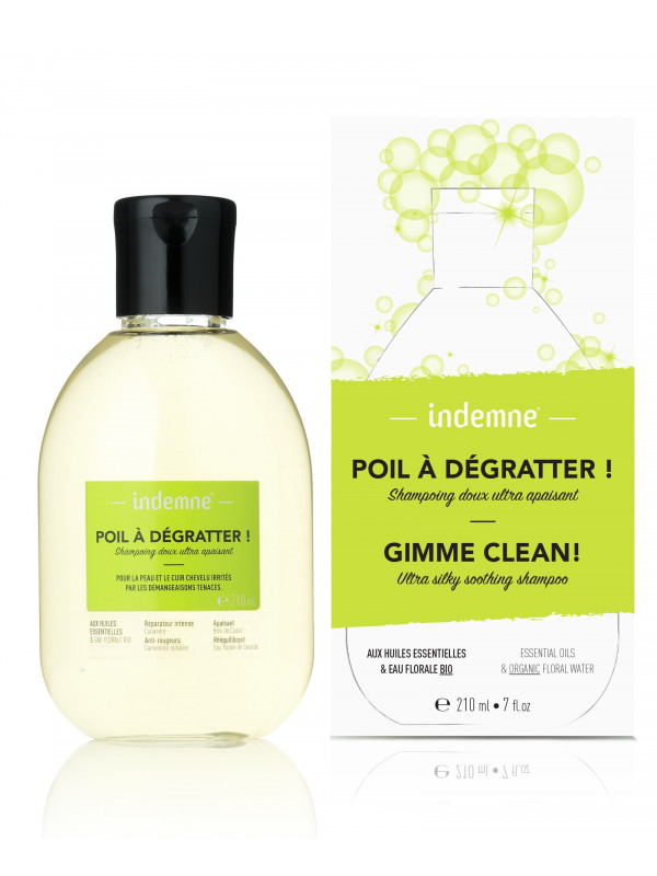Poil à dégratter !  shampooing 210 ml Indemne